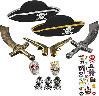 Poncho Pirata Nero con Teschio e Ossa Incrociate IMPERMEABILE riutilizzabile NUOVO