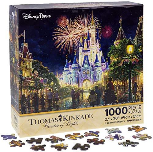 Disney Parks Exclusive - Jigsaw Puzzle - Main Street Fireworks USA Walt Disney World Resort 1000 Pieces