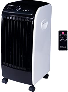 Clikon - Floor Air Cooler With Remote, 5 Liter Water Tank, 2 Gel Ice Pack, Water Sprinkling System, Multiple Settings Incl...