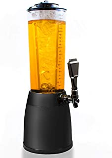 Dispensador de cerveza de 4,0L Dispensador torre de cerveza de culto Columna de bebida Dispensador de bebidas Columna de bebida con 1.3L de hielo refrigerado