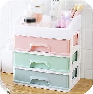 Makeup Organizer Drawers Plastic Cosmetic Storage Box Jewelry Container Make Up Case Makeup Brush Holder Organizers H1187,Multi