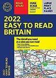 2022 Philip s Easy to Read Britain Road Atlas: (A4 Paperback) (Philip s Road Atlases)