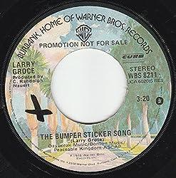 45vinylrecord The Bumper Sticker Song/The Curse (7