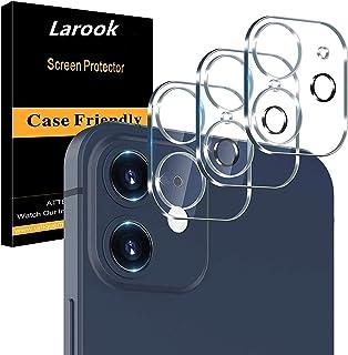 واقي عدسة كاميرا Larook لهاتف OnePlus 9R ، صلابة عالية، وضوح عالي الدقة [مضاد لبصمات] فيلم واقي لعدسة الكاميرا -عبوة من 3 قطع