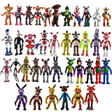 Five Nights at Freddys Action Figure Toys Full Set 1-3 Generation Security Breach Pizza Shop Sister Location Toy All Series FNAF for Kid Gifts (A)