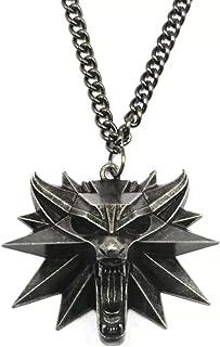 The Witcher 3 - Collar con colgante de medallón del Mago