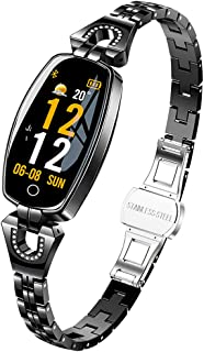 Women's Smart Watch, Pedometer Calorie, Smart Bluetooth Bracelet, A Variety of Functions See The Five Elements, Ladies Watch,A