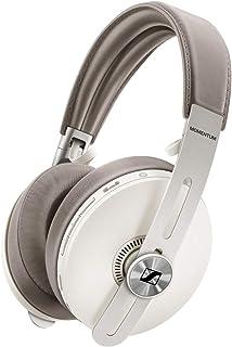 Sennheiser ゼンハイザー MOMENTUM Wireless M3AEBTXL Sandy White, Bluetoothノイズキャンセリングヘッドホン, オートon/off, スマートポーズ, ボイスアシスタント連携, Smart...