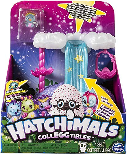 Hatchimals CollEGGtibles — Waterfall Playset with Lights, Sounds and Exclusive Season 4 Hatchimals CollEGGtible, for Ages 5 and Up