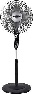 Orbegozo SF 3347 Ventilador de pie, 3 velocidades de ventilación, temporizador, 3 aspas, altura regulable, 50 W
