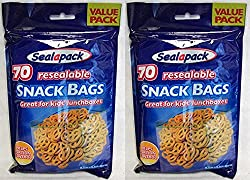 2x 70 snack bags
