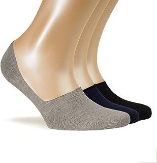 Grigi Antiscivolo Invisibili Bianchi Neri DANISH ENDURANCE 6 Paia Calzini Fantasmini per Uomo e Donna in Cotone Sport e Mocassini Corti e Traspiranti per Sneaker
