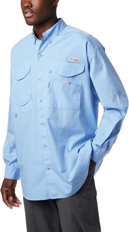 Columbia Herren Bonehead Langarm Shirt groe, weie Kappe, 5 X