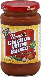 NANCES SAUCE CHKN WING MILD, 12 OZ PACK OF 6