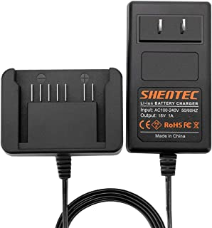 Shentec 18V Lithium Battery Charger Compatible with Hitachi 18V 339782 BSL1830C BSL1815X BSL1815S BSL1830 330139 330557 Li-ion Slide Style Battery
