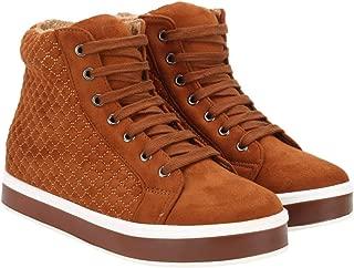 Flat n Heels Womens Tan Sneaker FnH 1788-13-TAN