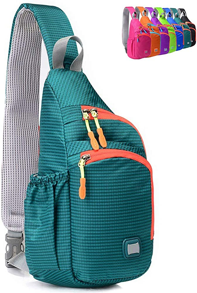 Max 51% OFF Peicees Small Sling Backpack Waterproof Ches Bag Unisex Fort Worth Mall Shoulder
