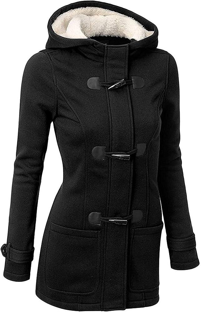 Ghyugr, cappotto invernale  con cappuccio per donna ,hoodie, felpato shenkaclothing0061