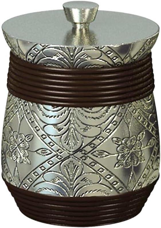 nu steel JP1H Max 81% OFF Austin Mall Jodhpur Collection Holder Vanity R Bathroom Q-tip
