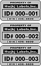 metal asset tag printer