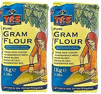 Harina de garbanzos Besan de 1 kg TRS para Pakoras, cebolla y bhajis
