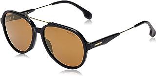 CARRERA Unisex Sunglasses, Aviator, 1012/S - Black/Brown