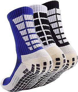 AOIREMON スポーツソックス サッカーストッキング サッカーソックス 耐久性 男女兼用 抗菌防臭 トレーニング 靴下 滑り止めソックス