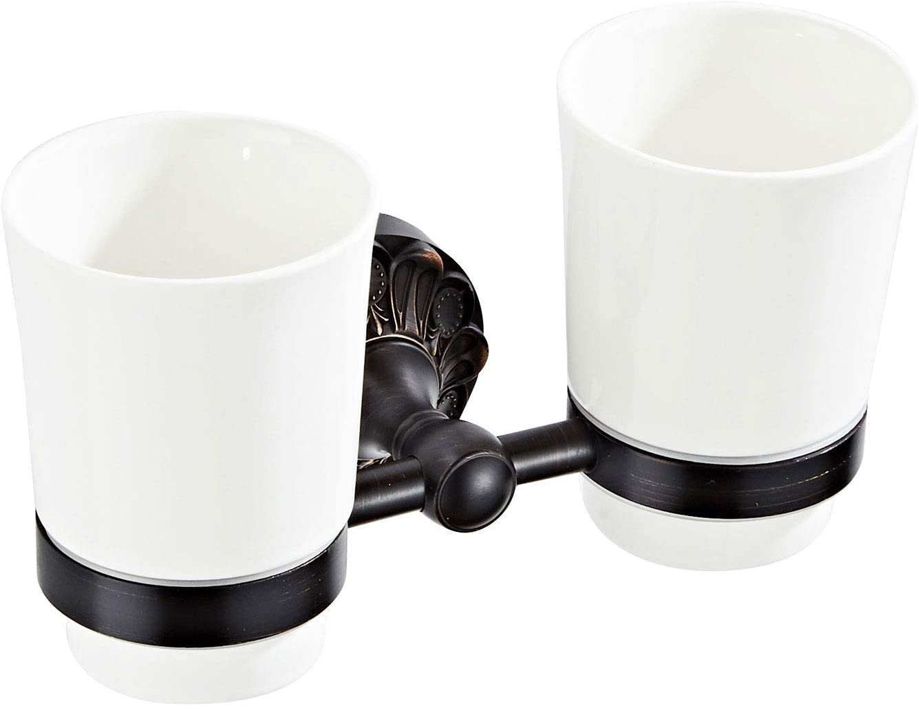 shopping Wall Mounted Toothbrush Holder with Cups 2 T Ceramic Toothpaste supreme