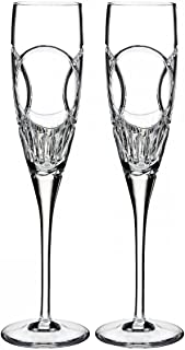 Waterford Love Wedding Vows Champagne Flute Pair