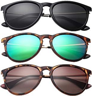 Classic Sunglasses for women, Round/Square Retro Man Polarized Sunglasses uv Protection Aviator...