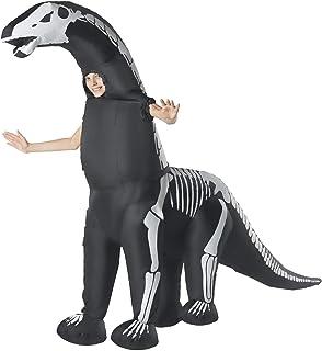 Morph Kids Skeleton Diplodocus Inflatable Dinosaur Costume Jurassic Giant - One Size