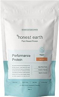 honest earth | No Nonsense Vegan Protein Powder | No Gums, No Sugar, No Fillers, No Artificial Flavoring | Just 7 pure, ra...