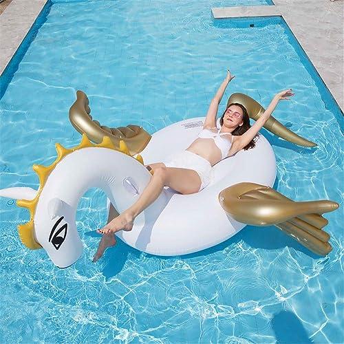 Flotteur de piscine Flotteur gonflable de piscine d'ailes d'or de Tianma for des adultes et des enfants jouet géant de salon de piscine for la parcravate de bain d'été Puesto de flores Invernadero del jar