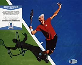Autographed Kevin Anderson Photo - Star 8x10 Beckett D27053 - Beckett Authentication - Autographed Tennis Photos