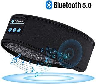Sleep Headphones Bluetooth Headband-Wireless Sports Headband Headphones with Ultra-Soft Music Headband-Perfect Sleeping Headphones for Side Sleepers Running Yoga Insomnia Travel, Gift for Men Women