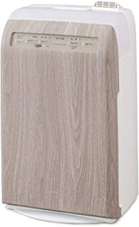 アイリスオーヤマ 加湿 空気清浄機 脱臭 花粉 加熱式 マイナスイオン 10畳 デザインモデル RHF-253-WM 白木目