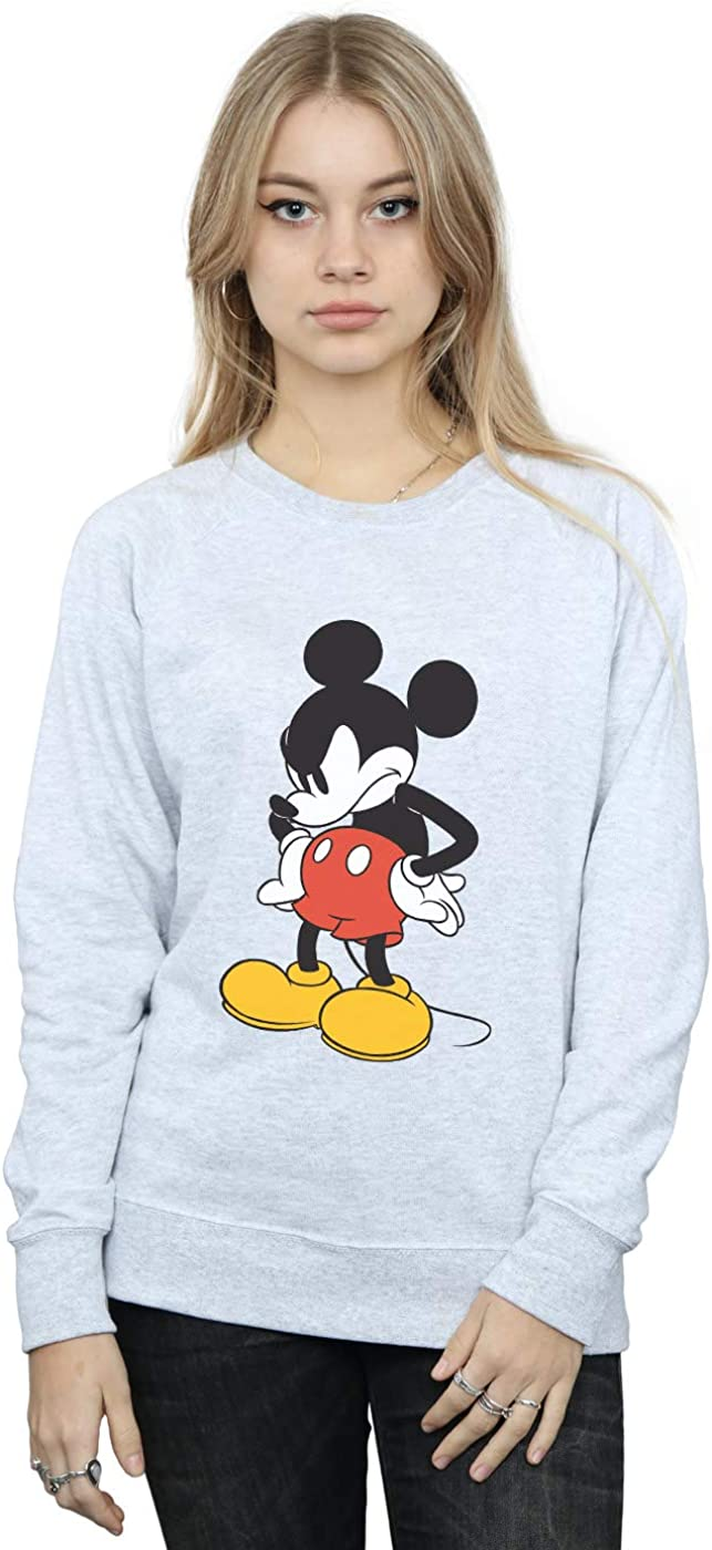 supreme Disney Women's Mickey Mouse Angry Look Sale Special Price Sweatshirt Down