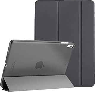"""ProCase iPad Air (3rd Gen) 10.5"""" 2019 / iPad Pro 10.5"""" 2017 Case, Ultra Slim Lightweight Stand Smart Case Shell with Translucent Frosted Back Cover for Apple iPad Air (3rd Gen) 10.5"""" 2019 –Space Gray"""