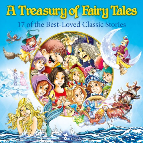 A Treasury of Fairy Tales audiobook cover art