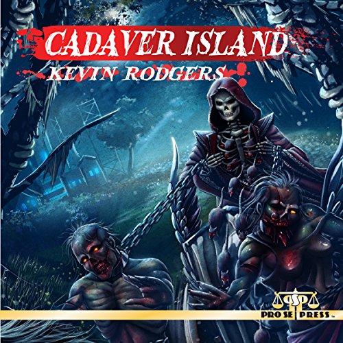 Cadaver Island audiobook cover art