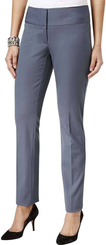 Alfani Womens Straight Leg Casual Trousers