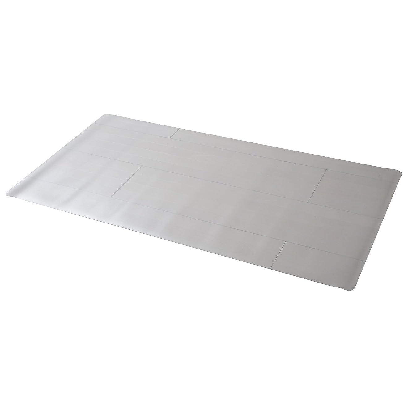 瞑想する艶に山善(YAMAZEN) チェアマット 180×90cm 1.5mm厚 クリア CFM-180
