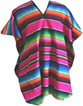 Best pink mexican poncho Reviews