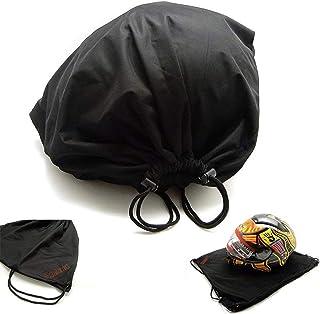 kemimoto Helmet Backpack, Multi-purpose Drawstring Bag, Anti-dust, Lightweight Storage Bag for Motorcycle Sport Gym Training Hiking Travel Bags, Special Gift