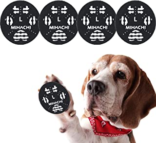 Mihachi Anti-Slip Dog Paw Pads - 100% Fit - 48 Pack Adjustable Paw Grips for Dogs, Traction Pads, Dog Paw Protector On Har...