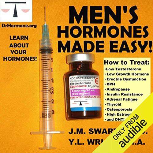 Men's Hormones Made Easy audiobook cover art
