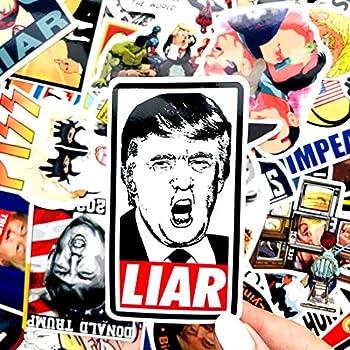 Impeach Trump Donald Drumpf Premium 55 PC Anti-Trump Election 2020 Stickers Decal