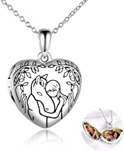 YFN Horse Boys Girls Pendant Necklace Gifts Locket Necklace that holds pictures for..