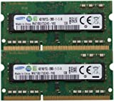 Samsung ram memory 8GB kit (2 x 4GB) DDR3 PC3-12800,1600MHz for 2012 Apple Macbook Pro's, iMac's and 2011 / 2012 Mac mini's