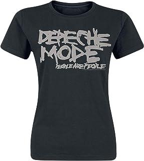 Unbekannt Depeche Mode People Are People Frauen T-Shirt schwarz Band-Merch, Bands